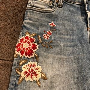 Kut from the Kloth Jeans - Kut from the Kloth Embroidered Jeans Size 6